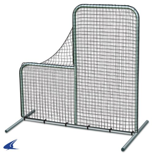 Pitcher's Safety L-Screen - 7'x7' w/ 40