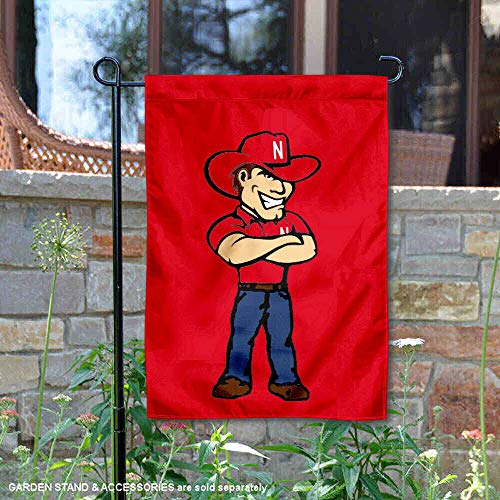 College Flags and Banners Co. Nebraska Cornhuskers Herbie Mascot Garden Flag