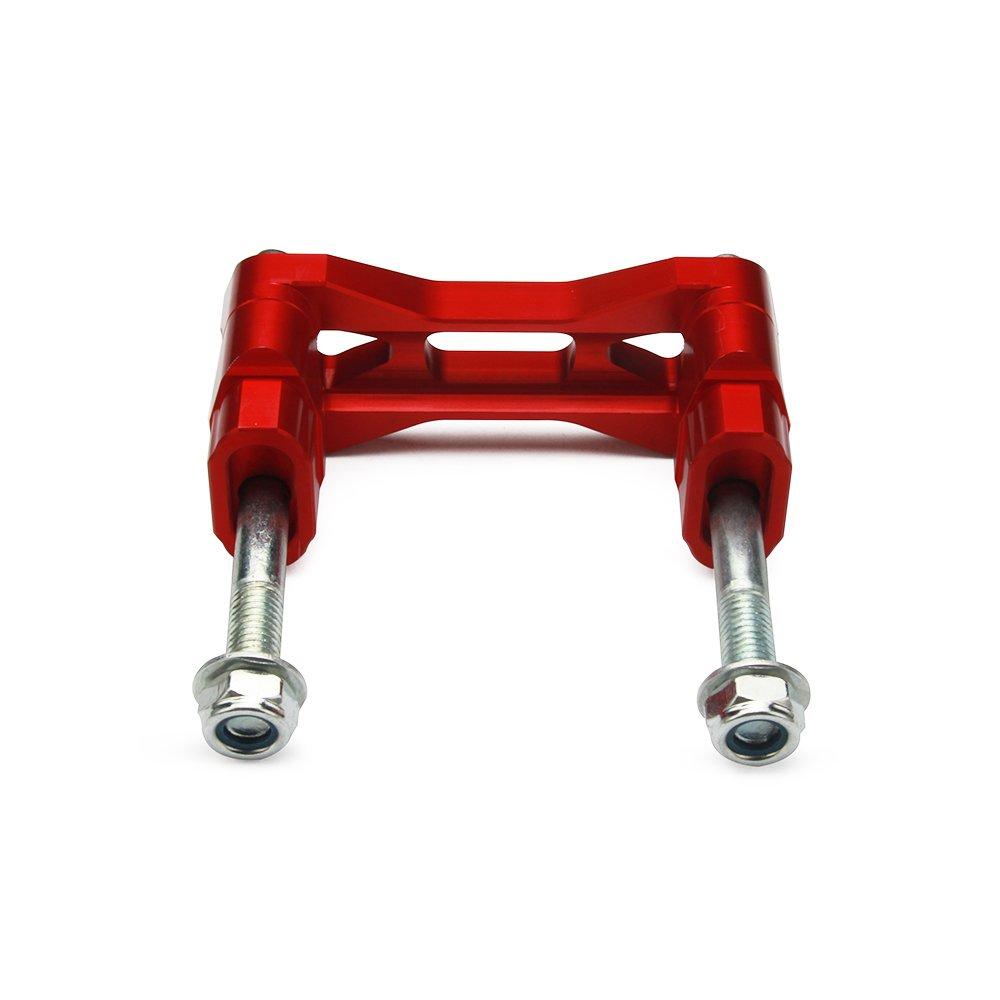 Rosso Honda CR125 CR250 00-07 CRF250R CRF250X 04-16 CRF450R CRF450X 02-16 JFG RACING 1 1//828mm CNC HandleBar Riser Clamp Mount