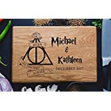 Always Harry Potter After all this time Custom Personalized Engraved Cutting Board Wedding Gift, Anniversary Housewarming Gift Birthday Snape harry01