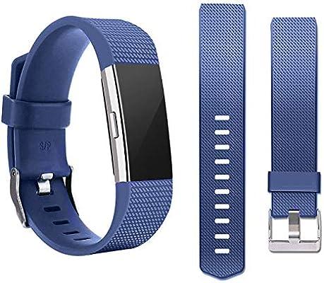 HSWAI - Bandas de Repuesto compatibles para Fitbit Charge 2 ...