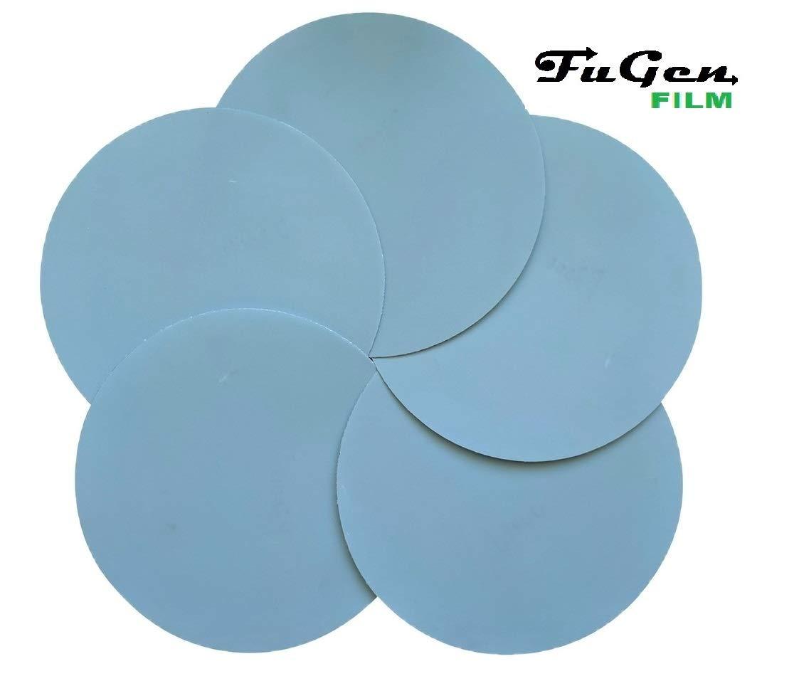 FUGEN Film 50PCS 800 Grit 6 in Hook and Loop Sanding Discs Wet or Dry for Random Orbital Sander ROS and Dual Action DA Sander