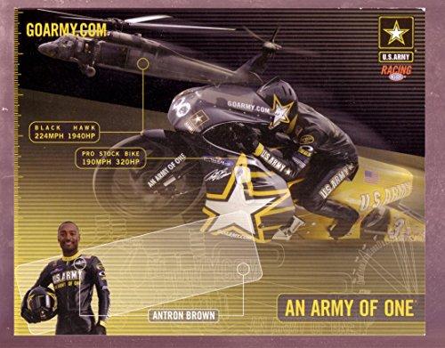 ANTRON BROWN NHRA HERO CARD PRO STOCK MOTORCYCLE - Pro 2005 Nhra Stock