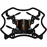 KXN Mini RC Drone (Suit for Experienced Flyer) 2.4Ghz 4CH 6-Axis Gyro Headless Mode One Key Return Quadcopter Good Choice for Kids Adult Drone Training (Orange)
