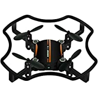 Littleice F19 Mini Drone Aititude Hold Smart Voice Remote Control Quadcopter 2.4G 4CH 6AXIS RC Helicopter (Orange)