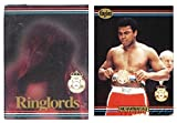 1991 Ringlords Boxing Complete Factory Sealed 50 Card Set Featuring the GREATEST Muhammad Ali! Vintage Set 25 Years old also includes Boxing Legends Lennox Lewis, Evander Holyfield, Julio Cesar Chavaz