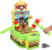 Crazy Whack A Mole Kids Toys Baby Games Counting Score Mouse Trap Toddler Boys Toys for Age 2 3 4 5 6 Year Old
