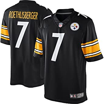 4d4fa16f8 Image Unavailable. Image not available for. Color  Nike Youth s Pittsburgh  Steelers Ben Roethlisberger  7 Limited ...