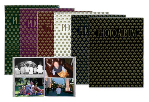 6-Pack Pioneer FC-246 2-UP Photo Album - Assorted Colors Pioneer Photo Albums