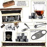 Eyozka Whiskey Glass Set Gift Box - Cigar Cutter