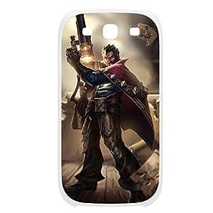 Graves-002 League of Legends LoL case cover Iphone 4/4S Plastic White