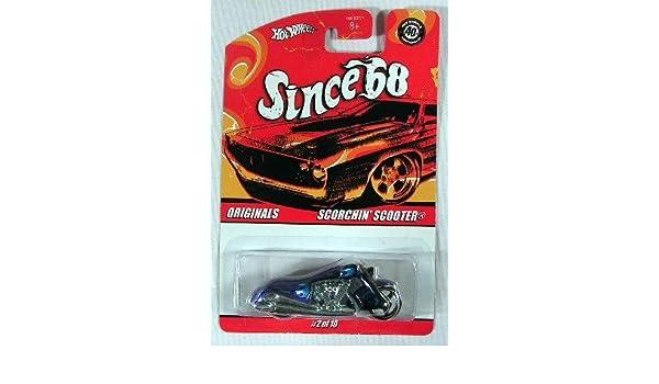 Blue Hot Wheels Since /'68 Originals Series SCORCHIN SCOOTER