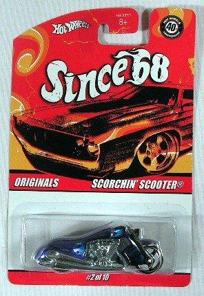 (Hot Wheels Scorchin' Scooter Since '68)