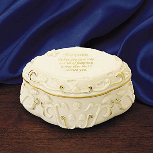 Lenox Fine Porcelain & Gold Music Box Inspired by the Poem