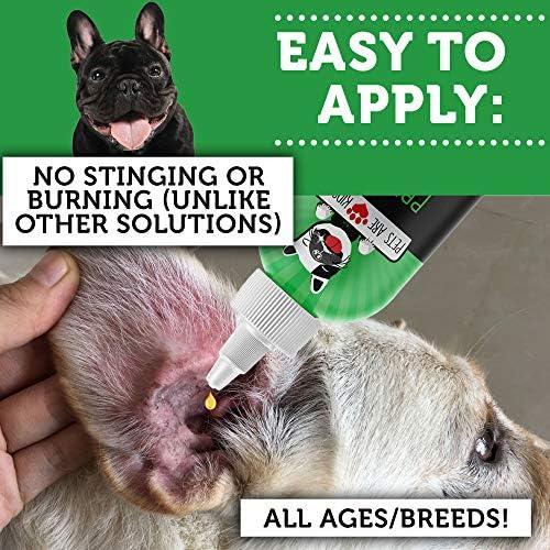 Amazon.com: Solución limpiadora de orejas para perros y ...