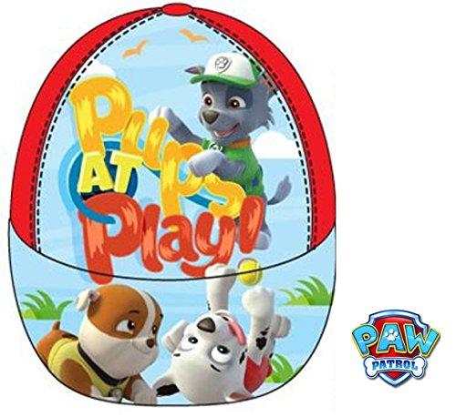 1 mes Gorra Rojo hombre para NickelodeonPawPatrol béisbol de rojo pFxqFa6