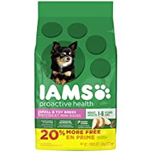 Iams Proactive Health Adult Small and Toy Breed Premium Dog Food, 2.72 kg