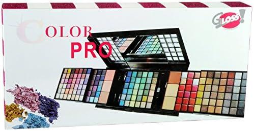 Gloss - caja de maquillaje, caja de regalo para mujeres - Paleta de Maquillaje - Color Pro - 166 Pcs: Amazon.es: Belleza