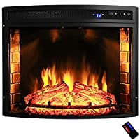28 in. Freestanding Electric Fireplace I...