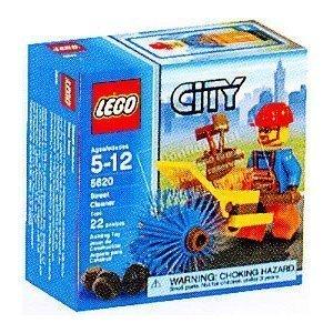 Lego City Set #5620 Mini Figure Street Cleaner ()