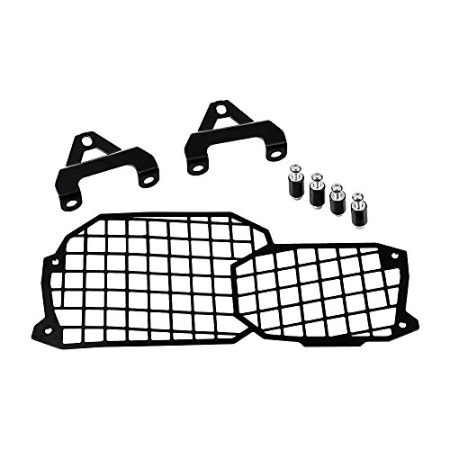 Motorcycle Headlight Protector Guard Lamp Mesh Grill For BMW F650GS F700GS F800GS