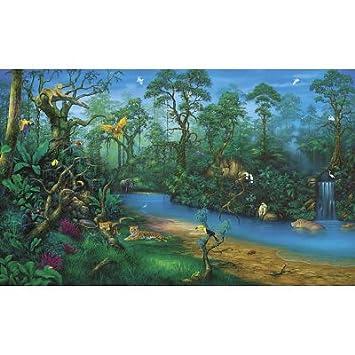 Good Environmental Graphics C829 Jungle Dreams Wall Mural Part 3