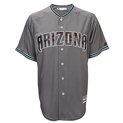 Zack Greinke Arizona Diamondbacks #21 Men's Cool Base Jersey Gray (XXL)