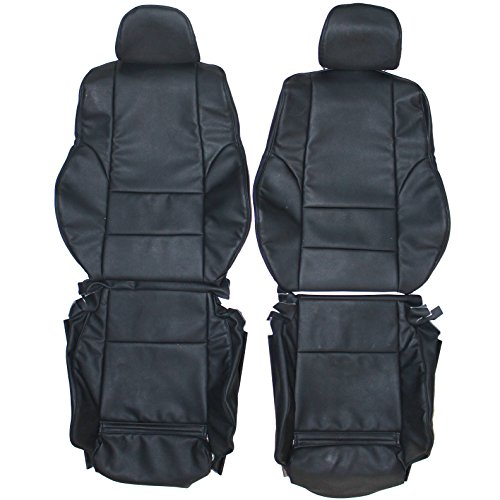 1998-2004 BMW E46 Coupe Sport Genuine Leather Seats Cover Custom Made (Front)Ivory