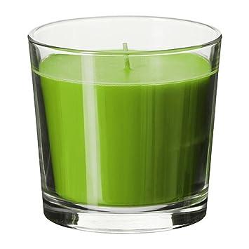 Ikea Kerzen Im Glas ikea sinnlig scented blossom duft farbige kerze in glas für anlässe