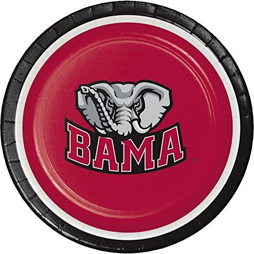 University of Alabama Dessert Plates, 24 ct ()