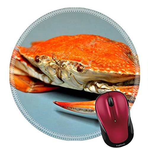 Liili Round Mouse Pad Natural Rubber Mousepad IMAGE ID: 14804521 fresh steamed crabs at Chumphon province Thailand