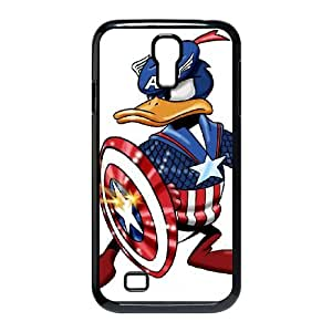 Samsung Galaxy S4 9500 Case Black Donald Duck Cell Phone Case Cover P7G3VF