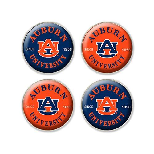 NCAA Fan Shop Auburn Tigers Legacy Fridge Magnet Pack, One Size, Custom