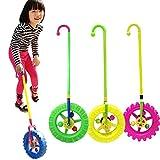 Kids Push Pull Toys Children Educational Wheel Luminous Toy Trolley Walking Walker For Toddler(1pc,Red)