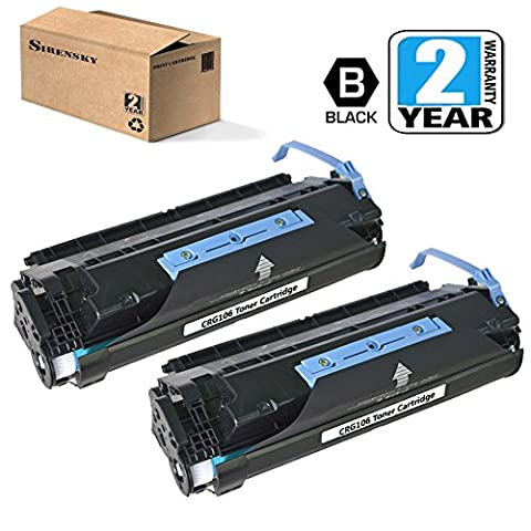 CRG106 Toner Cartridge 2 Pack Compatible for Canon MF6530 MF6531 MF6540 MF6550 MF6560 MF6580 MF6590 MF6595, Sirensky (Canon Imageclass Mf6540 Toner)