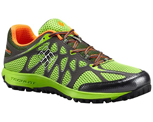 Columbia Men's Conspiracy IV Titanium Outdoor Sneakers, Green Mesh, 12 M by Columbia (Image #3)