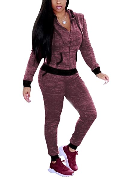 price reduced huge range of hot-seeling original Women 2 Piece Set Dot Print Hooded Jacket and Long Pants ...