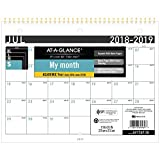 at-A-Glance 2018-2019 Academic Year Wall Calendar, Small, 11 x 8-1/2, Contemporary (AY17XF2819)