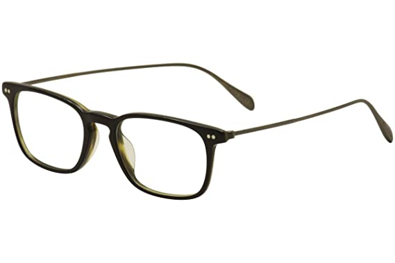 1dcffc68e8b Image Unavailable. Image not available for. Color  Oliver Peoples Rx  Eyeglasses Frames Brennon 5337U 1441 50x18 Black Olive Italy