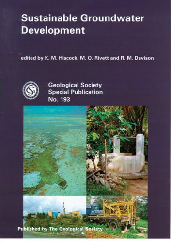Sustainable Groundwater Development (Geological Society Special Publication,) (No. 193) pdf epub