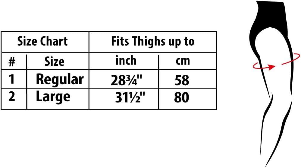 Muslo; tendones; neopreno; cinta adelgazante; quema grasa; cinta /'efecto sauna/'; negro y amarillo Large