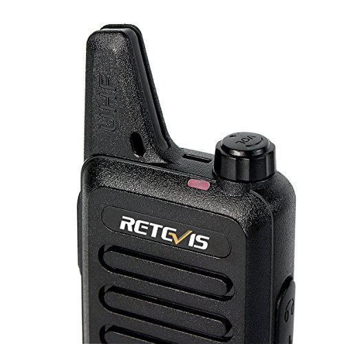 Retevis RT22 Two Way Radio 16 CH VOX 400-480MHz CTCSS/DCS Rechargeable Walkie Talkies(10 Pack) and Programming Cable by Retevis (Image #8)