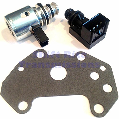 Wellington Parts Corp 44RE 46RE 47RE 48RE GOVERNOR PRESSURE SOLENOID & SENSOR KIT 42RE TRANSDUCER A518 (Borg Parts Transmission Warner)