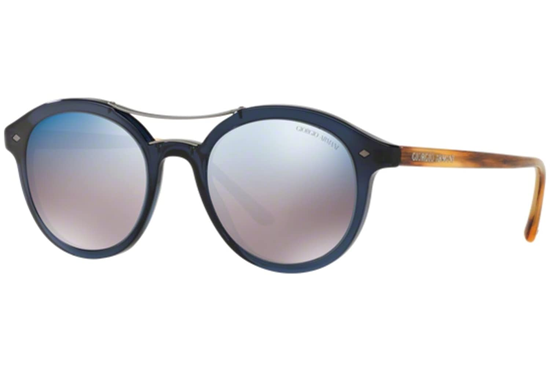 e707443205 Armani 0AR8007 535804, Gafas de Sol para Hombre, Azul (Blu/Grey Blue ...