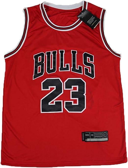 Ati nice Chicago Bulls # 23 Michael Jordan Jerseys de Baloncesto ...