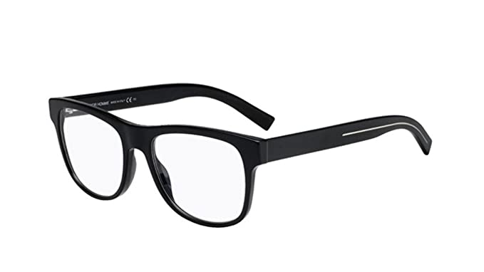 2b0ed8106c7 Image Unavailable. Image not available for. Color  New Christian Dior Homme  Black Tie 244 807 Black Eye Wear Eye Glasses
