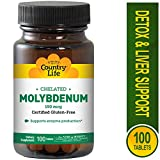 Country Life - Chelated Molybdenum 150 mcg. - 100 Tablets