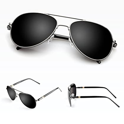a038b373b7 LUOMON MB209 58mm Polarized Aviator Sunglasses