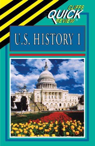 U.S. History I (Cliffs Quick Review) (Music Outline Note)