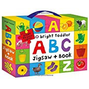 Bright Toddler: ABC Jigsaw and Book Set